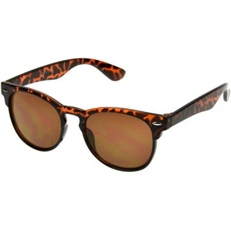 Ladies Club 2 Sunglass, Women's, Tortoise