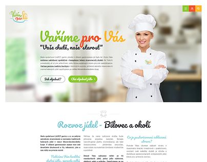"""Check out new work on my @Behance portfolio: """"We Cook For You - Vaříme pro Vás"""" http://be.net/gallery/50213449/We-Cook-For-You-Varime-pro-Vas"""
