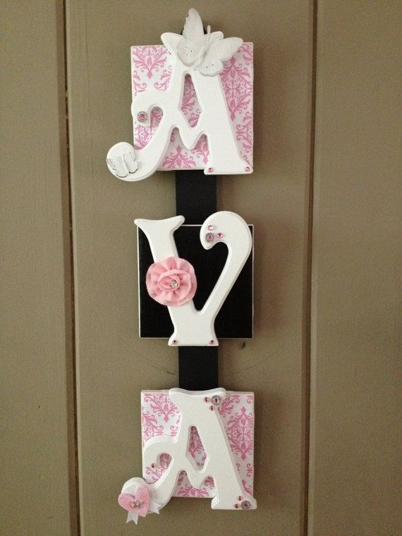 Hey, I found this really awesome Etsy listing at http://www.etsy.com/listing/156547718/name-plaque-3-letter-baby-name-wall