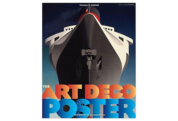 The Art Deco Poster Book on OneKingsLane.com