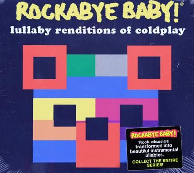 Rockabye Baby! Lullaby Renditions of Coldplay: Highlighting Coldplay's gorgeous melodies, these gentle recordings are sophisticated enough for everyone to enjoy, little or big. Introduce the apple of your eye to these essential masterpieces of rock & roll.Featuring lullaby renditions of: In My Place, Clocks, Yellow, The Scientist... and more!