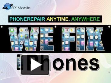Mobile Repair smart phone