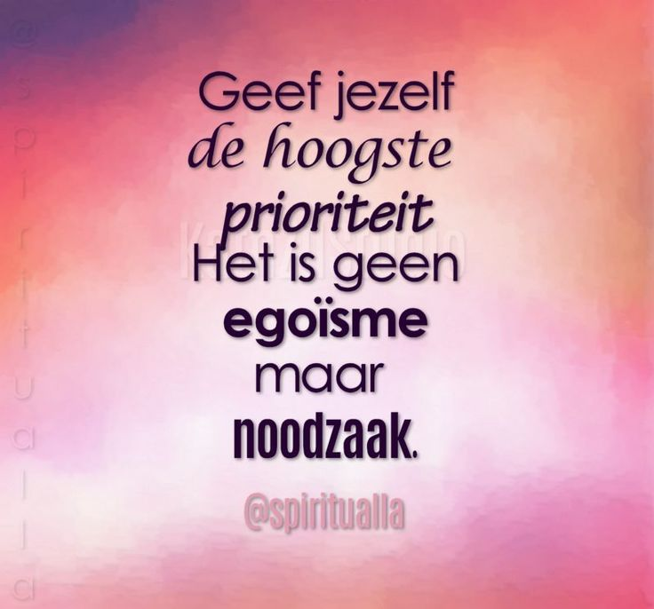 Prioriteit #motivationmonday