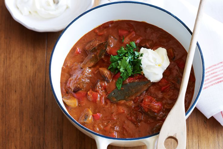 Rich Beef Goulash