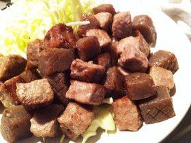 牛Xこんにゃくサイコロステーキ by 小倉ルーシー [クックパッド] 簡単おいしいみんなのレシピが274万品