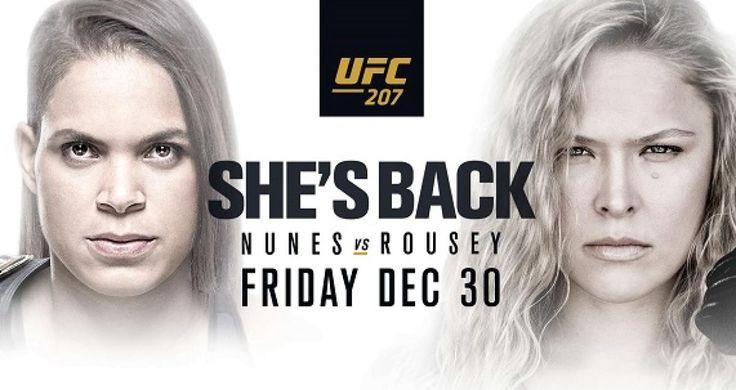 UFC 207 | Amanda Nunes vs Ronda Rousey | Main Card Fights