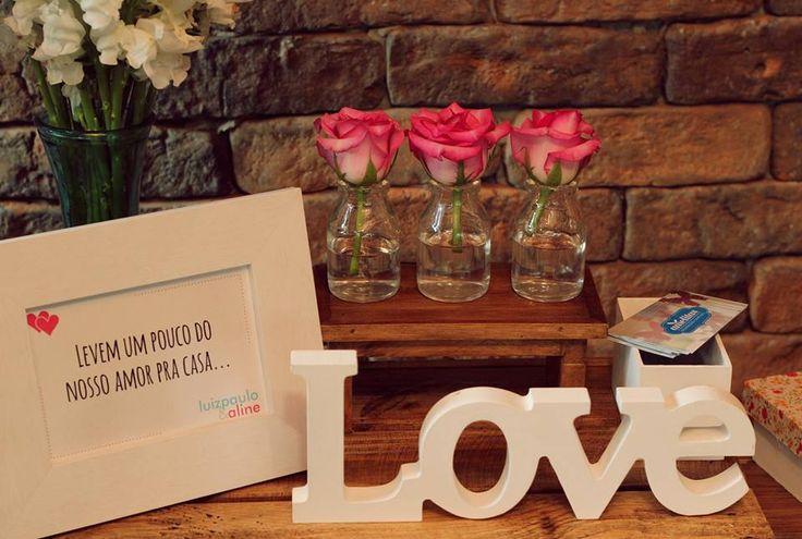Amelitas Decorações Criativas » Casamento Luiz Paulo e Aline