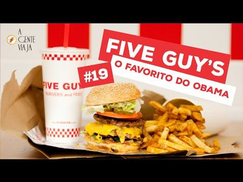 Five Guy's - Orlando Florida - Lanchonete favorito do Obama - YouTube