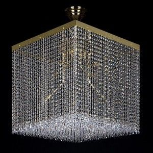 Modern Crystal Cube Lights #ContemporaryLighting