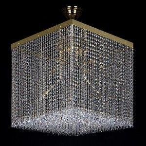 Modern Crystal Cube Lights #ContemporaryLighting