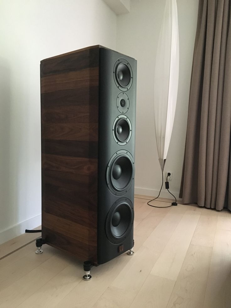 Beautiful 3way and double vented audiophile diy speakers