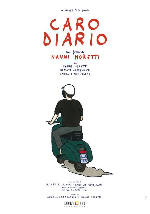 [1993] CARO DIARIO /// Nanni moretti    The first section of this film is perfect to get a feel for Rome in August.