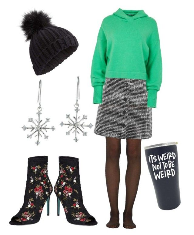 """""""Untitled #12"""" by tripti917 on Polyvore featuring Wolford, Topshop, TIBI, Betsey Johnson, Miss Selfridge, Icz Stonez and Hoodies"""
