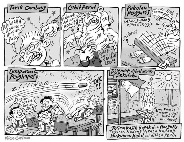 Mice Cartoon, Komik Jakarta - November 2015: GURU