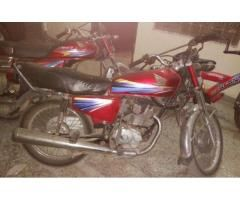 Honda 125 New Tyre Model 2010 Genuine Spare Parts Sale In Lahore