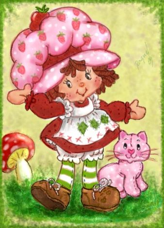 Original Strawberry Shortcake Cartoons | Strawberry-Shortcake-