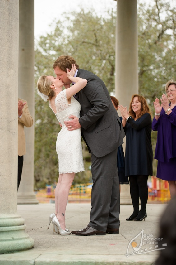 New Orleans Wedding Photography At Popps Band Stand In City Park I Jessica And