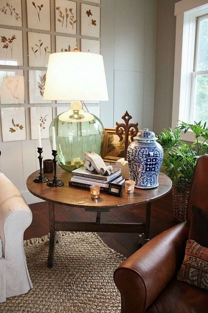 65 Unique And Beautiful Living Room Decoration Ideas For Decorative Lighting In 2020 Table Lamps Living Room Side Table Decor Lamps Living Room