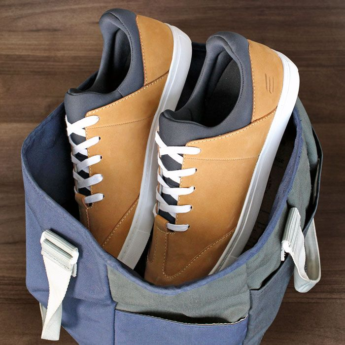 ELECT Cable sneakers in tobacco suede // ELECT Footwear - Our Shoes // #electfootwear #leather #mens #shoes