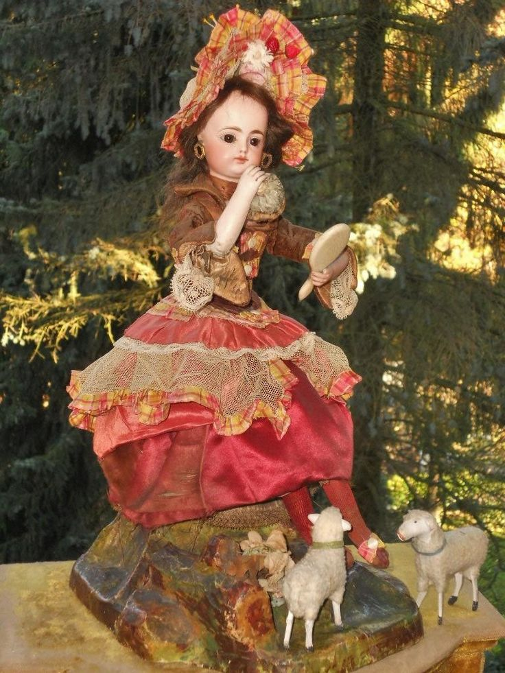 ~~~ Rare French Musical Automaton by Gustav Vichy / 1885 ~~~ from whendreamscometrue on Ruby Lane