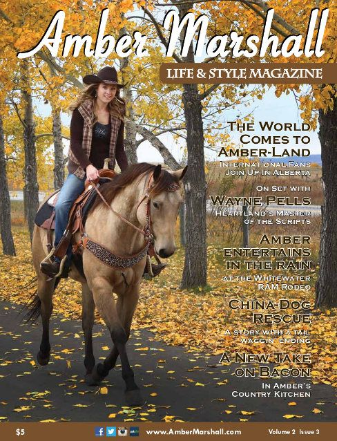 Amber Marshall Life and Style Magazine