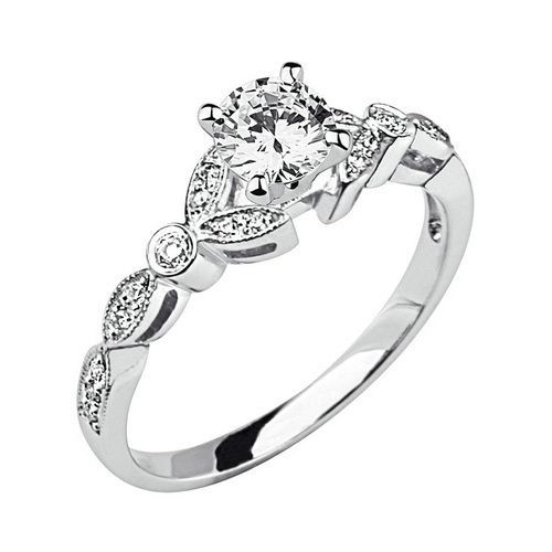 Superb Unique Vintage Wedding Rings For Women Vintage Engagement Rings I really like this style a LOT