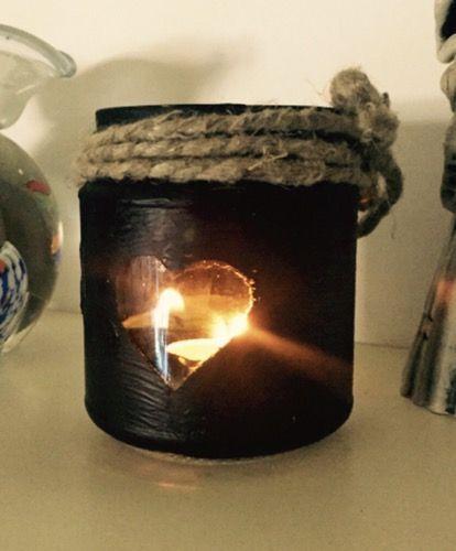 Pi di 25 fantastiche idee su lanterne con barattoli di - Lanterne portacandele ikea ...
