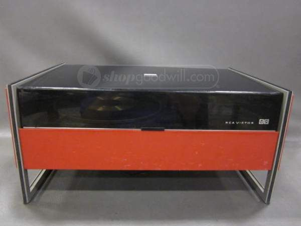 RCA Victor Red Stereo Turntable