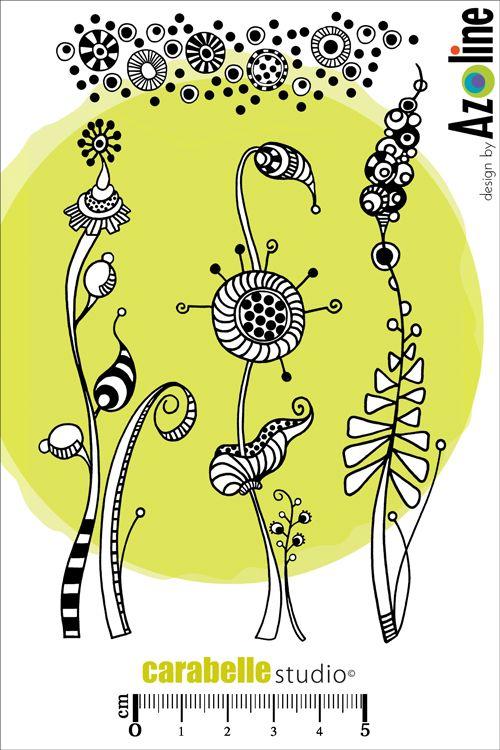 Acheter Tampon Azoline : Herbes folles - CARABELLE STUDIO
