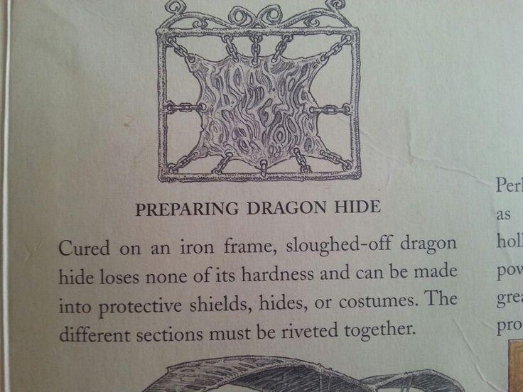 Piel de dragon uso propiedades properties of dragon hide