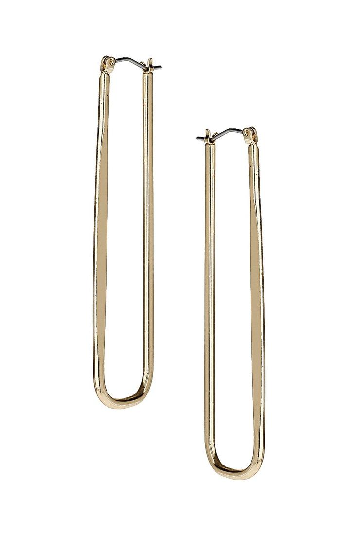 Narrow Hoop Earrings
