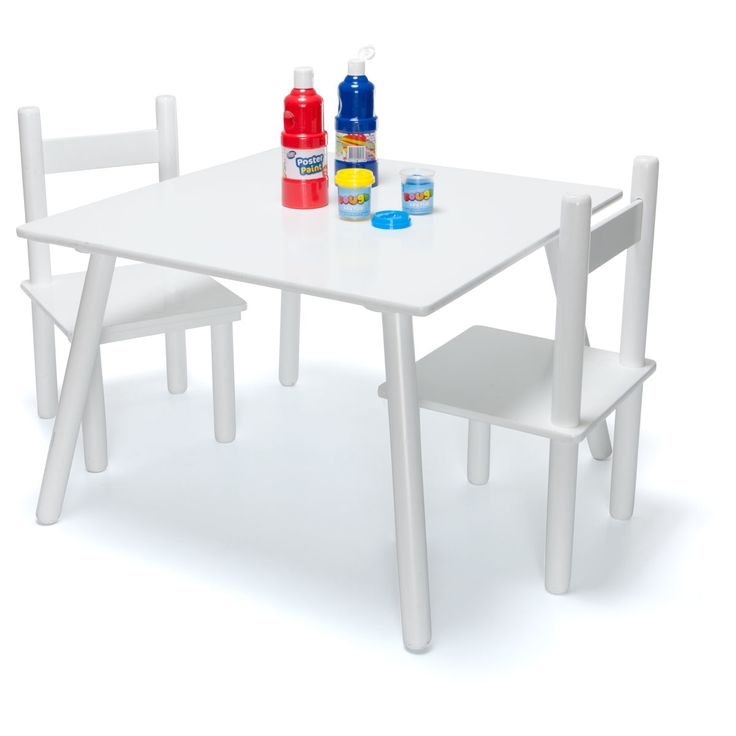 table & Chair Set White roomates