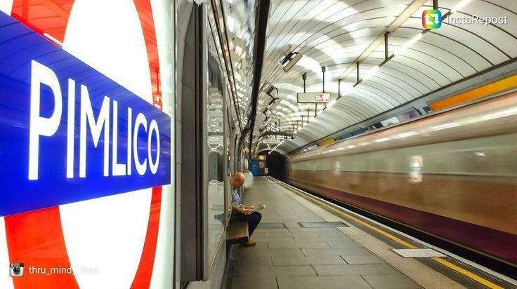 """1,320 Likes, 15 Comments - Transport for London (@transportforlondon) on Instagram: """"Reposting @thru_mind__lens  Thanks for tagging us in this great shot from Pimlico station. . . …"""""""
