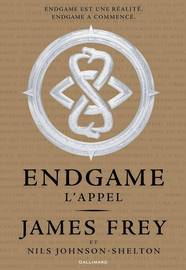 « Endgame. L'Appel », de James Frey et Nils Johnson-Shelton (Gallimard)