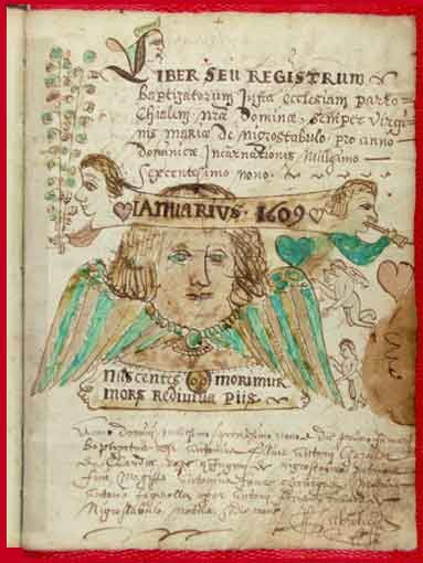 Registre paroissial de Noirétable | Archives départementales de la Loire (42), cote 2 E 905.