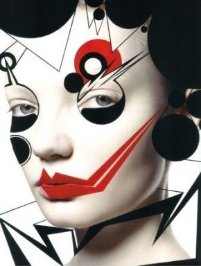 Abstract makeup #facepaints