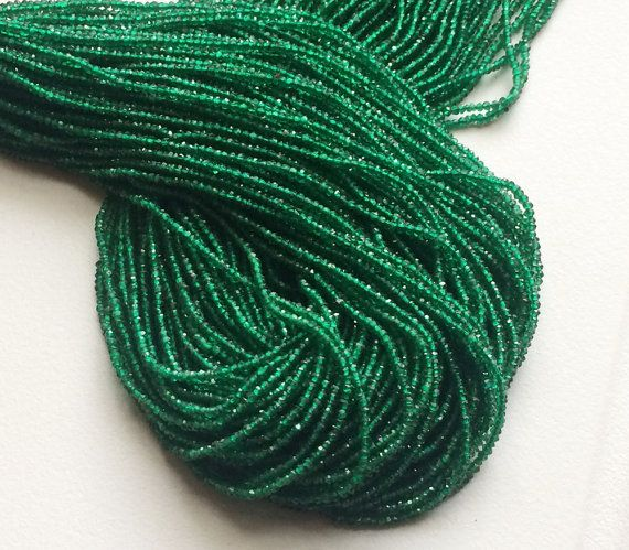 Green Onyx Beads Original Green Onyx Micro by gemsforjewels