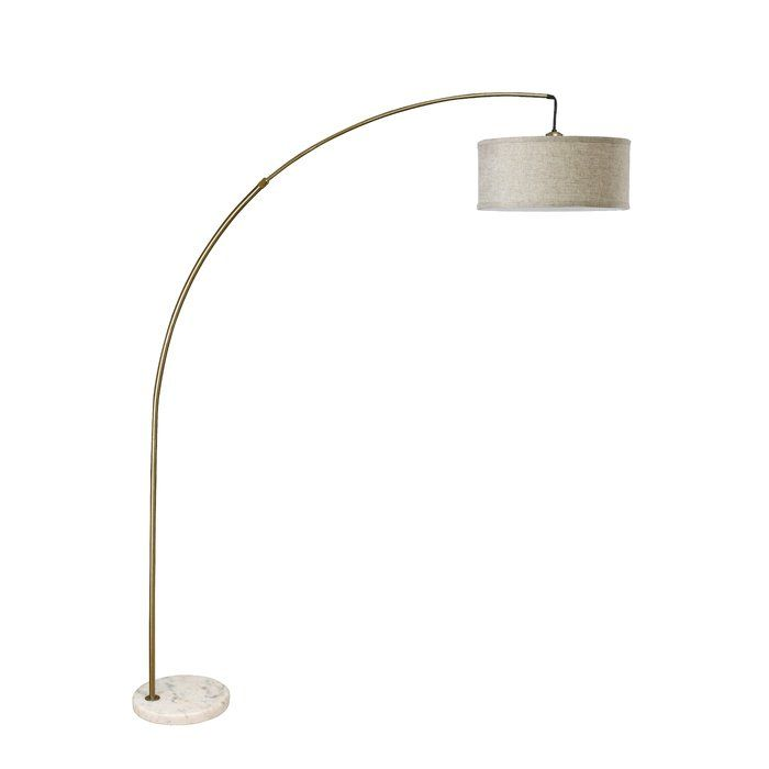 Wiesner Modern Extendable Arched Floor Lamp Arched Floor Lamp Arch Lamp Floor Lamp