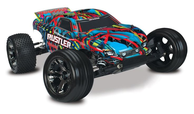 Traxxas Rustler VXL RTR W/TSM and NiMh ID Battery