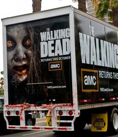 Guerrilla Marketing for The Walking Dead