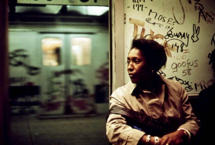 Erik Calonius  Interior of Graffiti-Marked Subway Car. 05/1973
