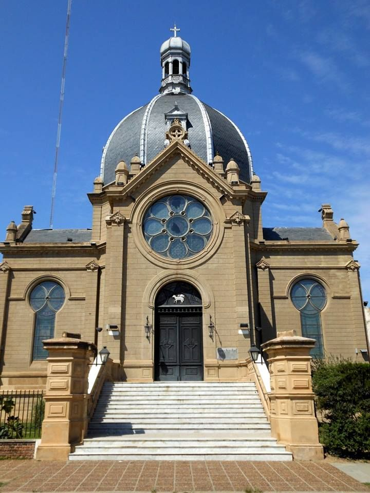 Iglesia La Rotonda en Goya, Corrientes. Argentina