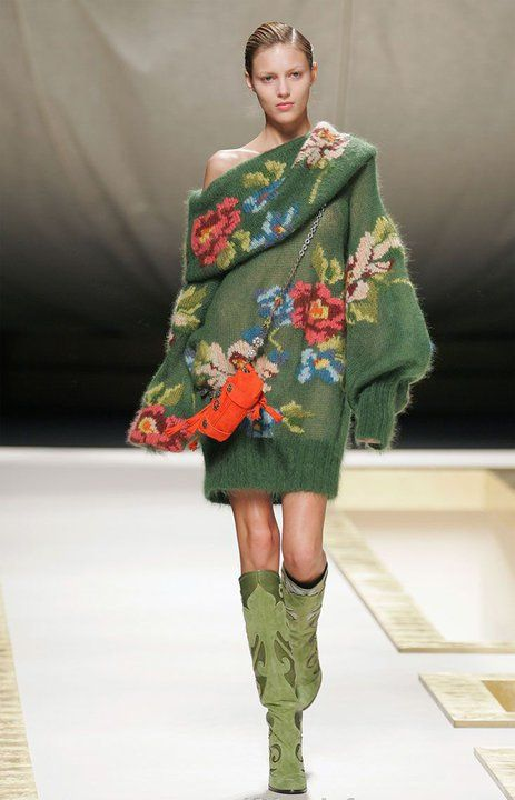 Kenzo.oh yes i would rock this jumper dress for the winter.#loveit