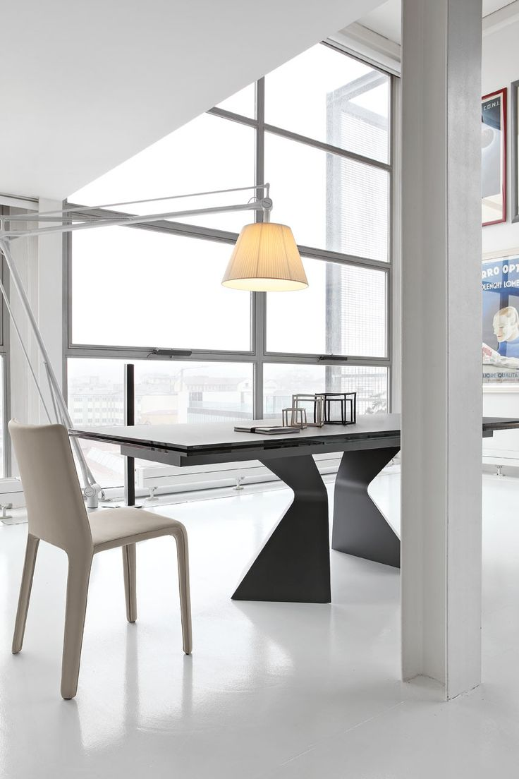 Bonaldo Flag Extending Dining Table Extending Dining Tables - Prora table and my time chair cantoni furnituredining