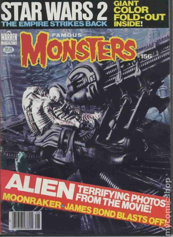 Famous Monsters of Filmland Magazine #156