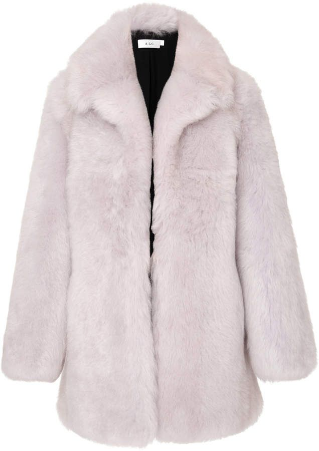 huge discount 36ed2 6b75a A.L.C. Oversized Shearling Coat | Outfitofday