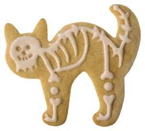 cat halloween cookie - Bing Images