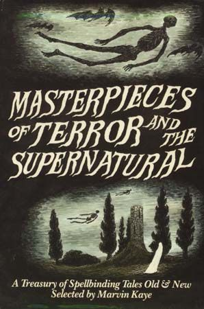 Masterpieses of Terror and  the Supernatural(1985)   Marvin Kaye, cover by Edward Gorey