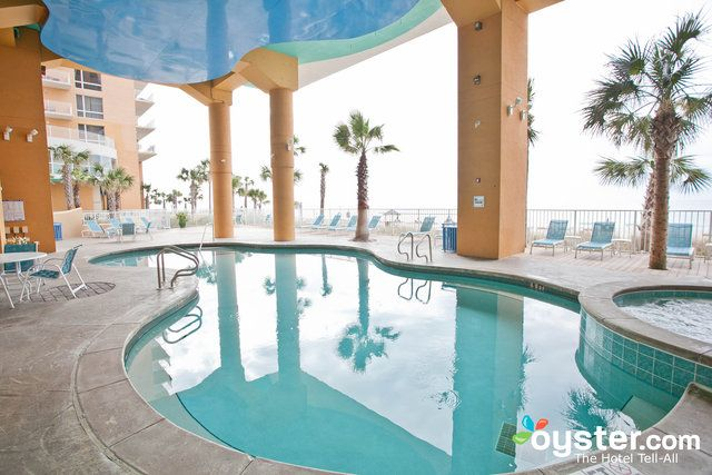 This 276-room, condo-style property located right on the sand in Panama City Beach is extremely kid-friendly. Beyond the bright colors and fun animal paintings, this resort also features an interactive water park, arcade with mini bowling alley, and fun lazy river. Each of the cheerful, homey condos -- some of which can sleep up to 10 people -- offer kitchens, washer/dryer, and balconies with gorgeous views of the Gulf of Mexico.