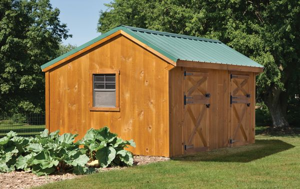 Combination Goat Barn Chicken Coop Small Farming